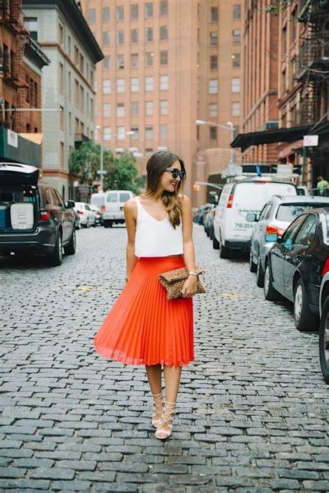 Tips For Wearing Orange by 25 Best Ideas About Orange Skirt On Orange