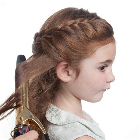 flower girl hairstyles half up half down flower girl s braided half up half down hairstyle martha
