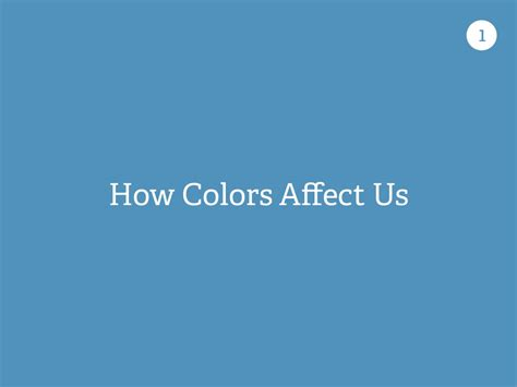 how colors affect us 1