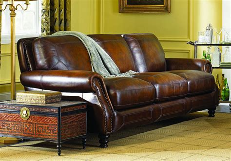 ashland hillsboro prairie genuine leather sofa set