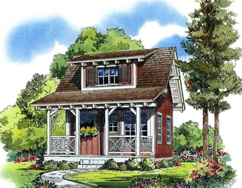 cozy cottage house plans cozy guest cottage or retreat 11537kn 1st floor master