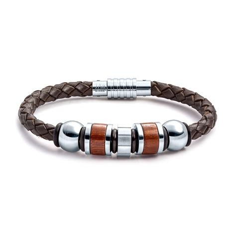 leather jewelry aagaard mens jewelry leather bracelet no 1204 landing