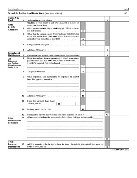 form 1040 nr u s nonresident alien income tax return