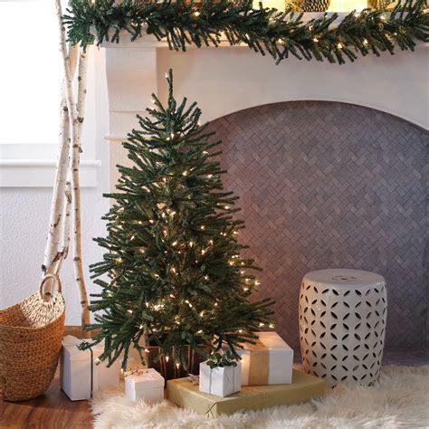 finley home  ft delicate pine slim pre lit christmas