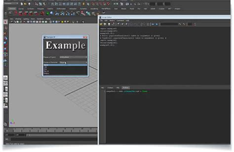 Tutorial Python Interface | building maya interfaces with python lesterbanks