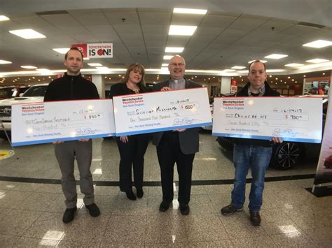 Westchester Toyota Westchester Toyota Held Its 24th Give Back Donation Event