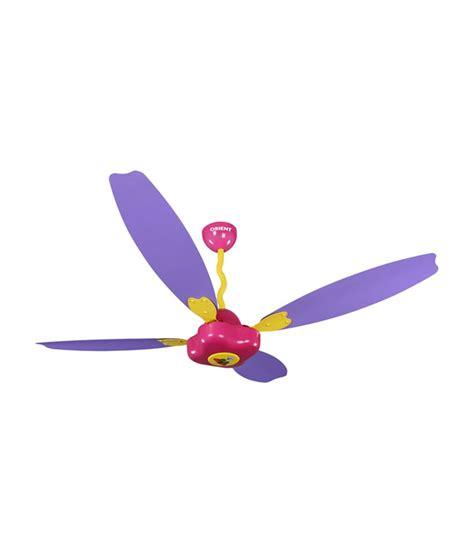 Orient 1200 Mm Funtoosh Ceiling Fan Pink Purple Price In Purple Ceiling Fan