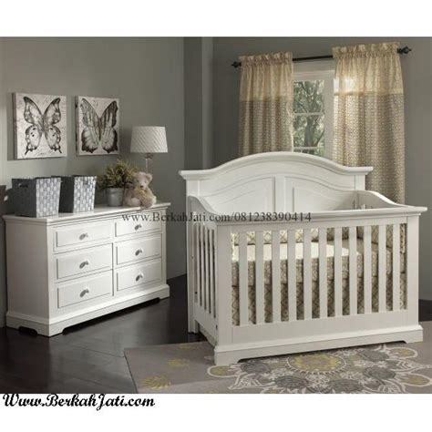 set kamar bayi minimalis cat putih duco berkah jati