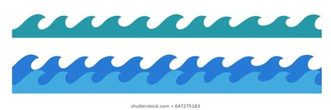 cartoon boat waves cartoon waves images stock photos vectors shutterstock