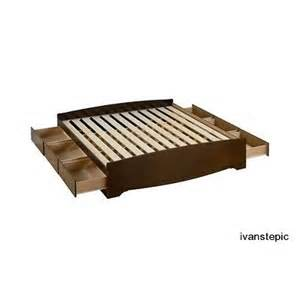 King Size Bed Frame Support King Size Bed Frame Platform With Storage Slat Support