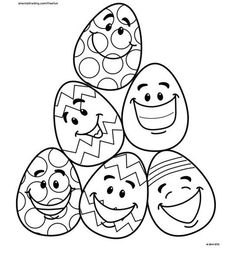 easy coloring pages for easter 5 easy easter egg coloring pages coloring egg coloring