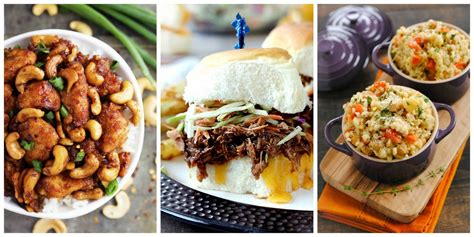 ideas for dinner 40 easy slow cooker recipes for busy nights best crock