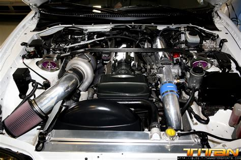 nissan titan turbo kit titan motorsports 187 titan turbo kit installed