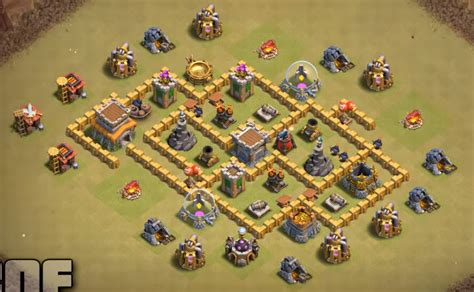 best th6 base 2016 10 best town hall th6 war bases anti everything 2017