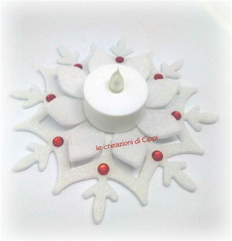 candela a led porta candela a led in feltro per la casa e per te