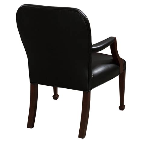 Used Leather Chairs by Bright Used Leather Wood Side Chair Black National