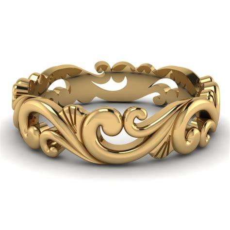 Wedding Bands Gold by Best Unique Mens Wedding Bands Collection Fascinating