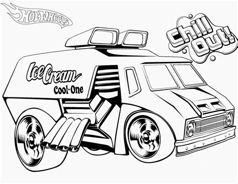 coloring pages for hot wheels hot wheels cartoon coloring home