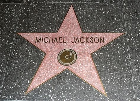 List of awards and nominations received by Michael Jackson ... Hollywood Walk Of Fame Stars Michael Jackson