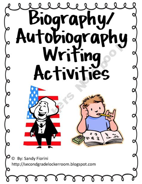biography and autobiography foldable 134 best images about literacy on pinterest