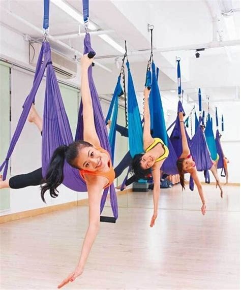 anti gravity yoga inversion swing inversion therapy anti gravity aerial yoga gym swing