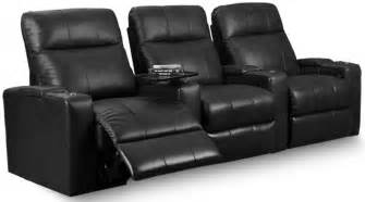 plaza black bonded leather power reclining row 3