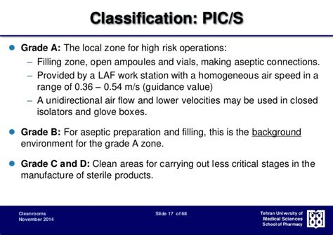 grade c clean room cleanroom classification design and