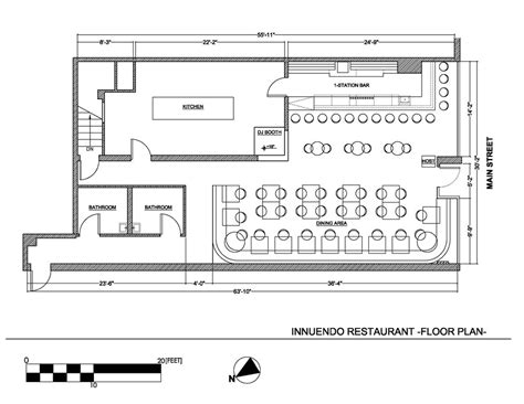 small restaurant floor plan bar and restaurant floor plan