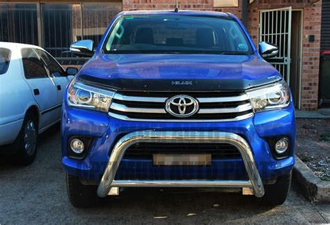 Kit Fortuner 2016 Mdl Lx Steel 3 quot stainless steel nudge bar grille guard to suit toyota