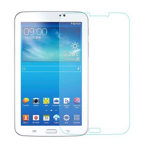Kp1530 Tab 3 70 Tempered Glass Screen Protector A Kode Tyr1586 3 0 3mm tempered glass screen guard protector for samsung galaxy tab 3 7 0 t210 free shipping