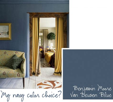 Ashley Whittaker Design by Top Paint Picks For Navy Blue Walls Jenna Burger