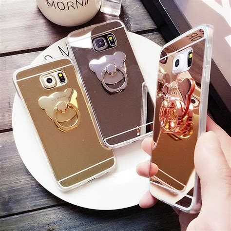 Samsung Note 3 Softcase Motomo Ring Stand Holder Aluminium phone cases for samsung s8 plus mirror cover rabbit ring holder stand for samsung s6 s7
