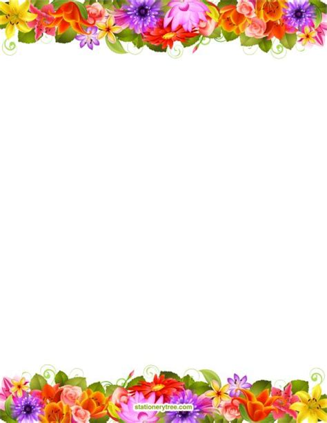 lined paper with plant border 116 best images about borders flowers n plants on