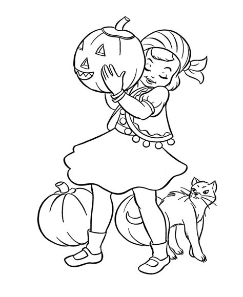 Halloween Coloring Pages Costumes Coloring Pages