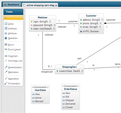 open source software for uml diagrams genmymodel uml tool for software architects and