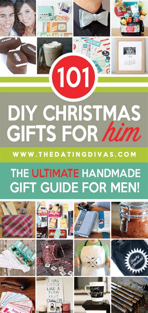101 Handmade Gifts For - 101 diy gifts for him the dating divas