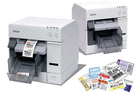 Printer Barcode Epson epson tm c3400 colour barcode printer 桌上型彩色噴墨條碼標籤印表機