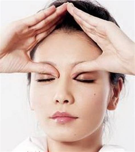 Eye Masager eye socket can cure rhinitis s daily