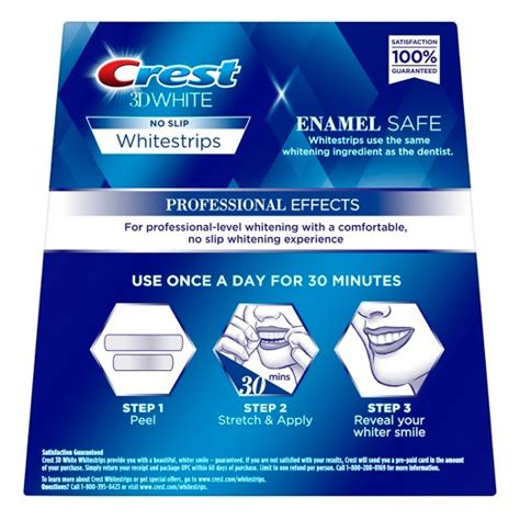 crest whitening strips supreme crest 3d white whitestrips professional effects teeth
