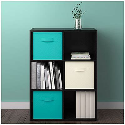 ameriwood system build 6 cube black storage cubby big lots