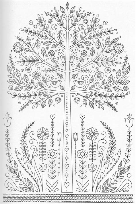 This Detailed Tree Will Be Fun For Your Child To Color And Detailed Tree Coloring Pages