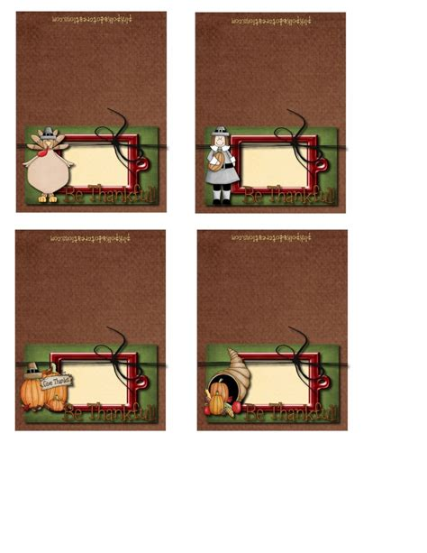 thanksgiving ace cards templates thanksgiving printables and pink polka dot