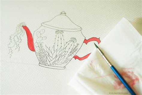 tutorial illustrator watercolor simple watercolor illustration tutorial the postman s knock