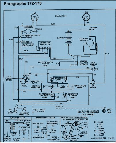 wiring diagram for ford 3910 diesel tractor the wiring