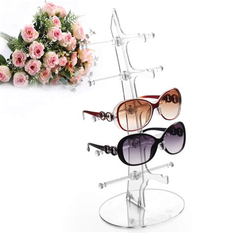 On The Shelf Glasses new 5 pairs glasses sun glasses display shelf sunglasses