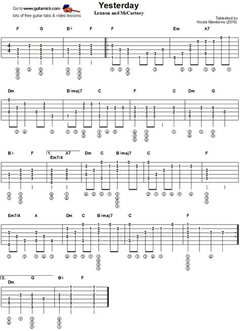 guitar fingerstyle tutorial pdf 79 best images about guitar tabs on pinterest