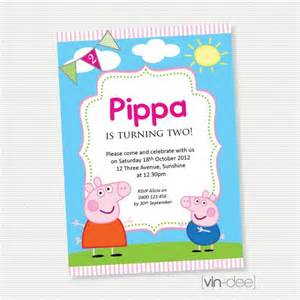 peppa pig birthday invitation diy printable birthdays birthday invitations peppa pig