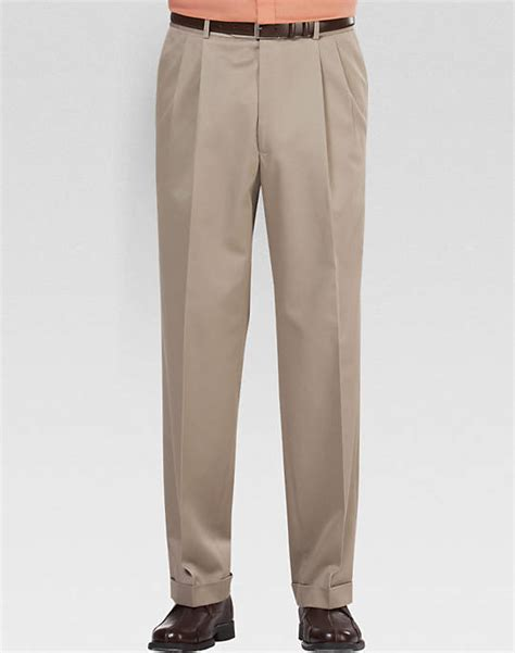 Cotton Pant joseph feiss khaki cotton s casual