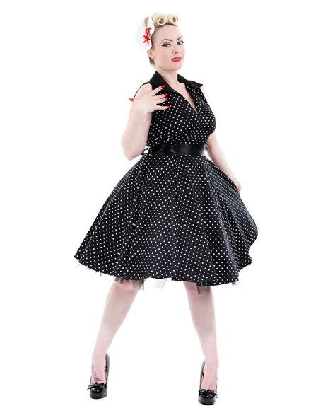 50er jahre 50er jahre petticoat kleid polka dot kleid vintage
