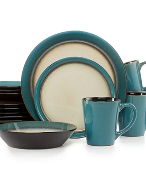 teal dinnerware pfaltzgraff everyday dinnerware teal 16 pc set service for 4 dinnerware dining